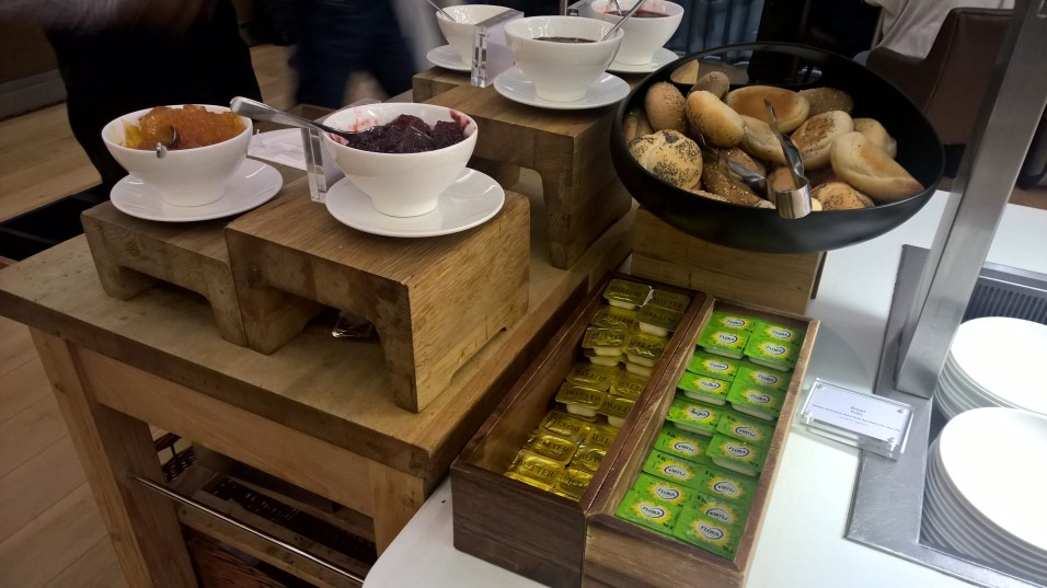 BA Galleries First Lounge London Buffet