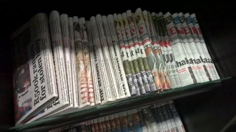 Baobab Business Lounge Johannesburg Newspapers