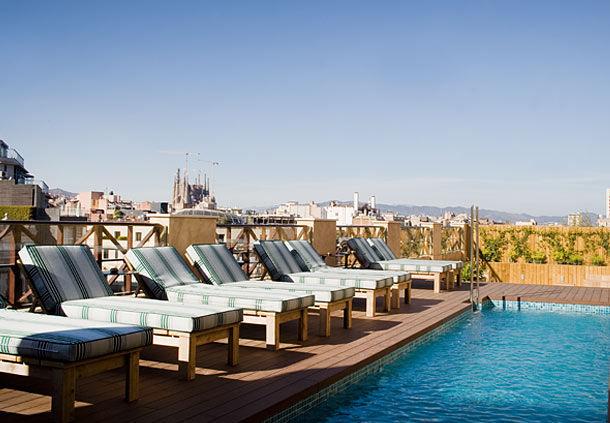 Cotton House Barcelona Pool