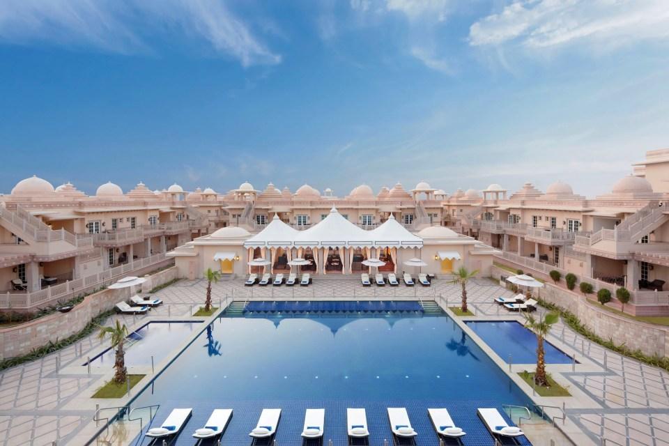 ITC Grand Bharat Pool