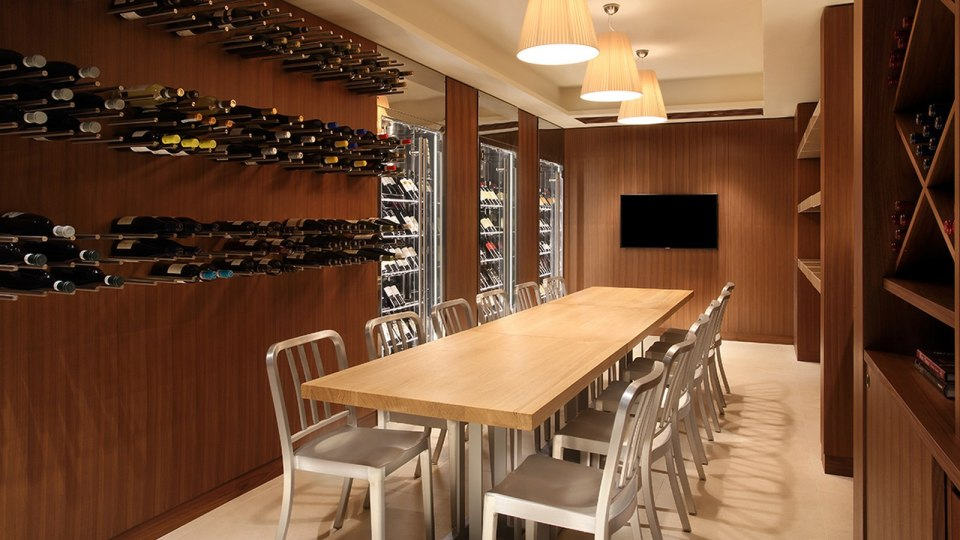 Excelsior Hotel Gallia Milan Wine Cellar