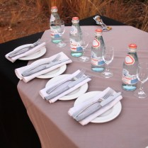 Zulu Camp at Shambala Wine Tasting