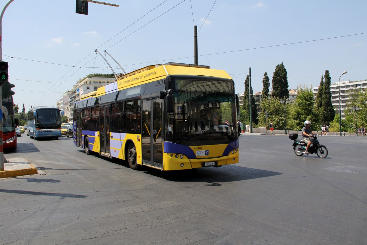 Trolleybus in Athens