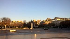 Running in Paris Trocadéro