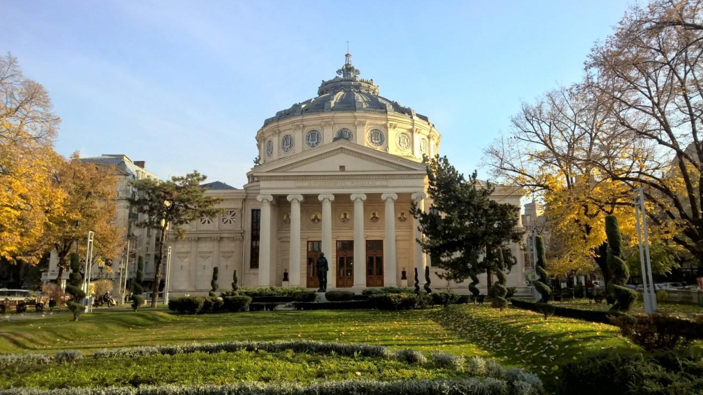 Running in Bucharest