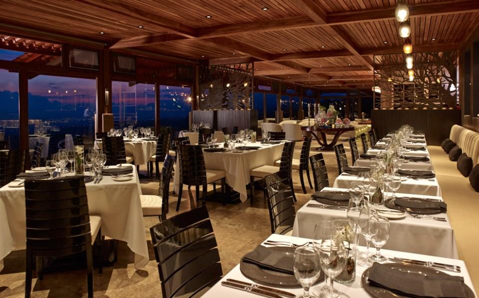Hacienda AltaGracia Ambar's Panoramic Dinner Restaurant