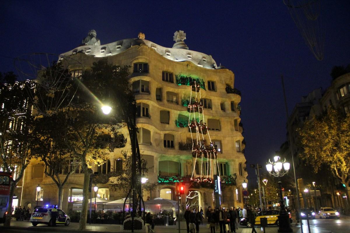 Gaudi Casa Mila Barcelona
