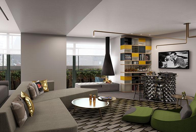 W Amsterdam E-Wow Suite