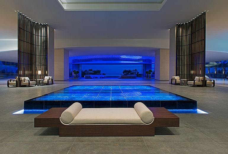 Lobby Westin Blue Bay Resort