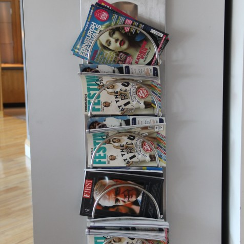 BA Terraces Lounge Manchester Magazines