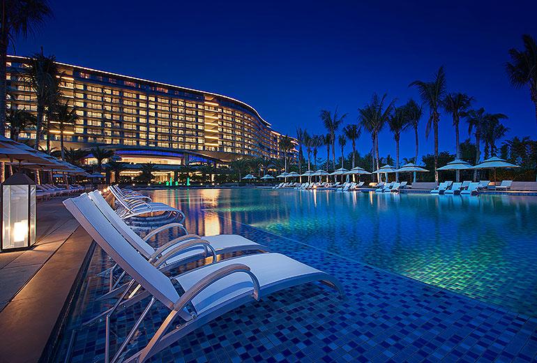 Pool Westin Blue Bay Resort