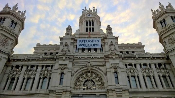 Running in Madrid Palacio de Cibeles