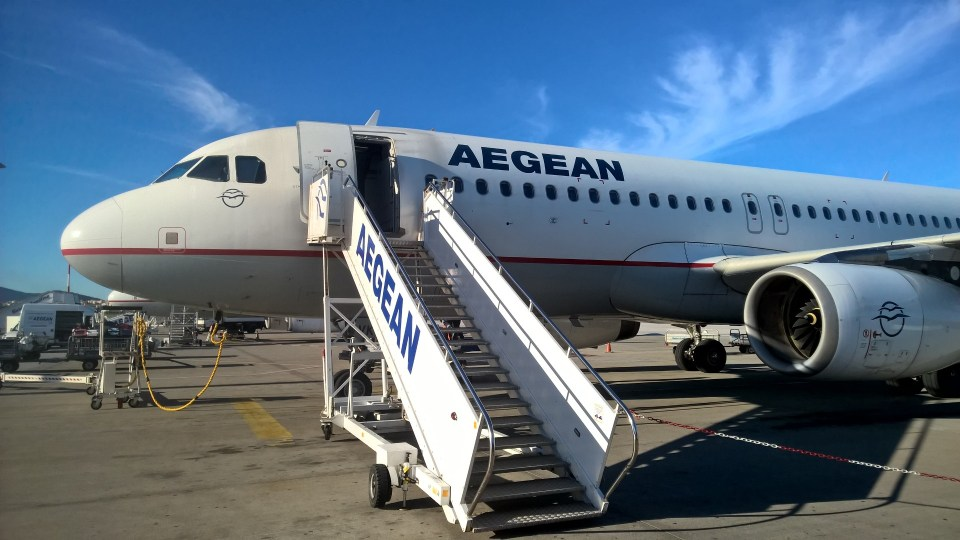 Aegean Airlines Airbus A320