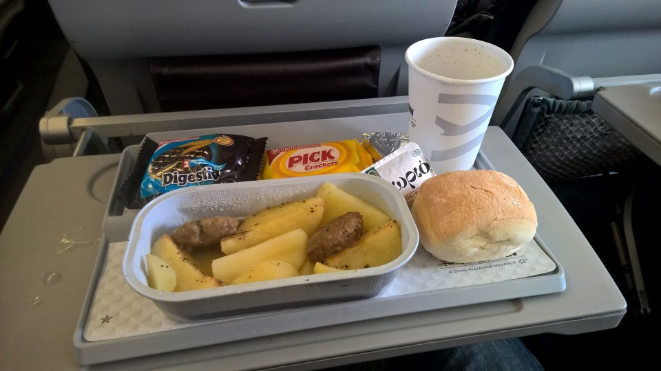 Aegean Airlines Catering