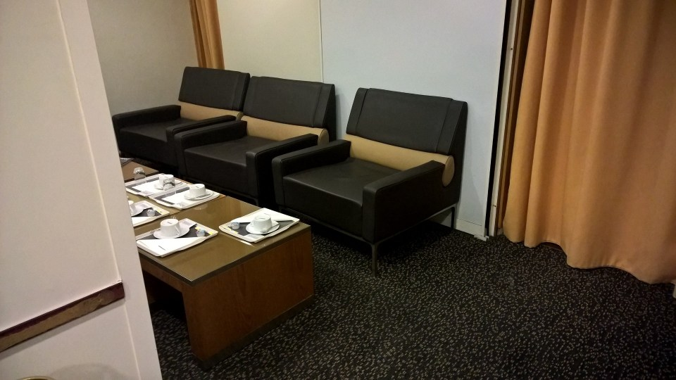 Air France Lounge Paris CDG 2F Seating