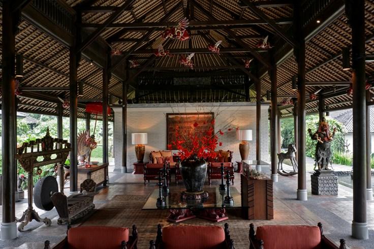 The Chedi Club Tanah Gajah Lobby