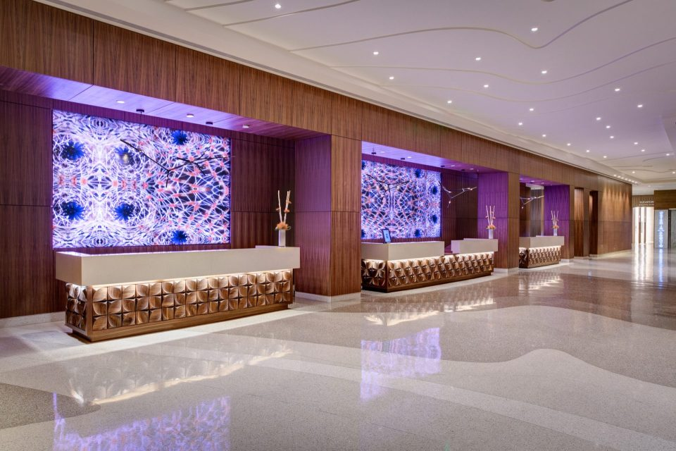 JW Marriott Austin Reception