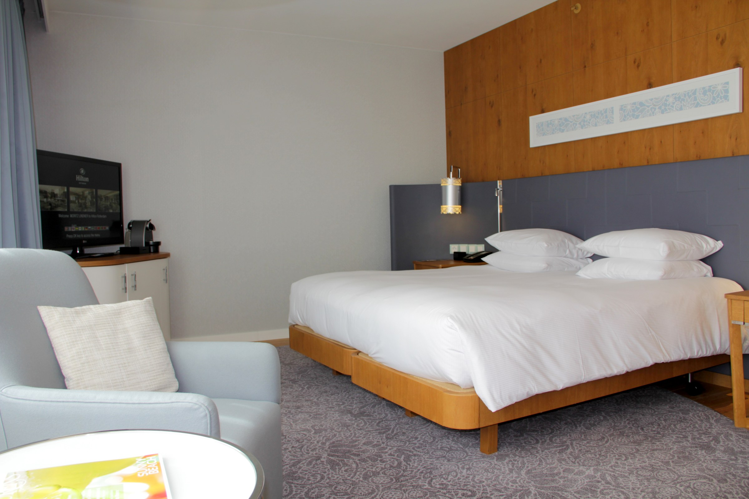 Hilton Rotterdam Junior Suite