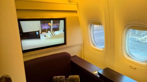 Etihad First Class Seat