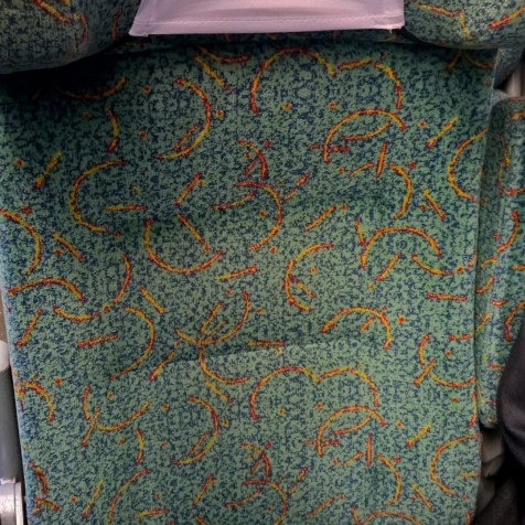 EIC Second Class Seating