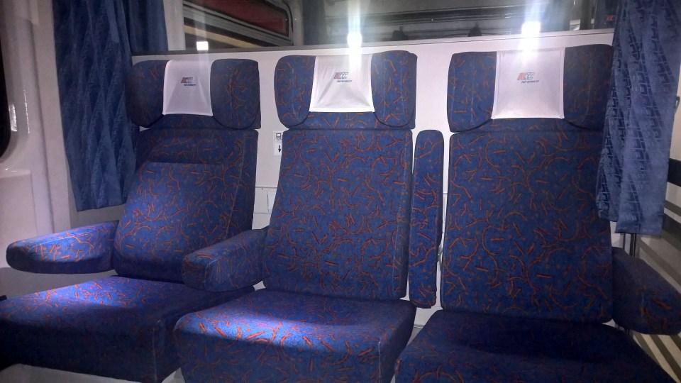 Berlin-Warszawa-Express First Class