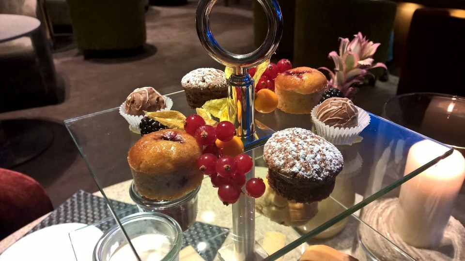 The sweet delights were the best part of the Afternoon Tea at Hotel Palace