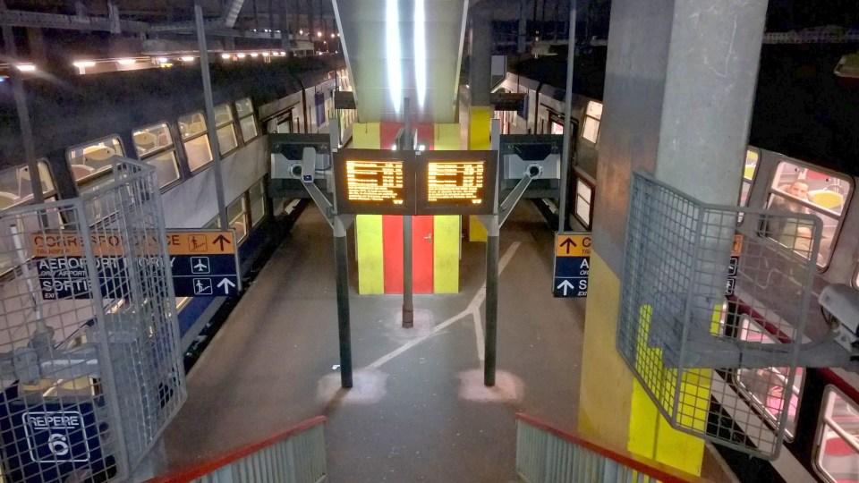 Paris Orly Trains
