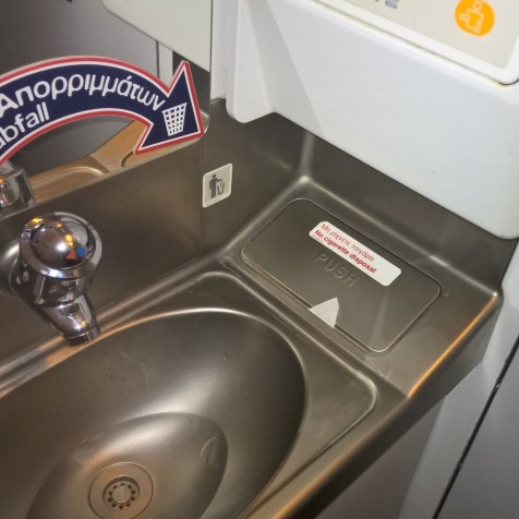 Aegean Airlines Washrooms