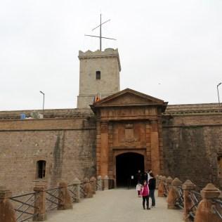 Castell de Montjuic Barcelona