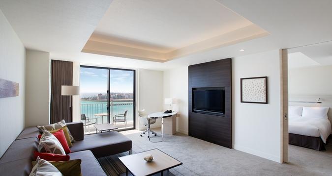 Hilton Okinawa Chatan Resort King One Bedroom Suite