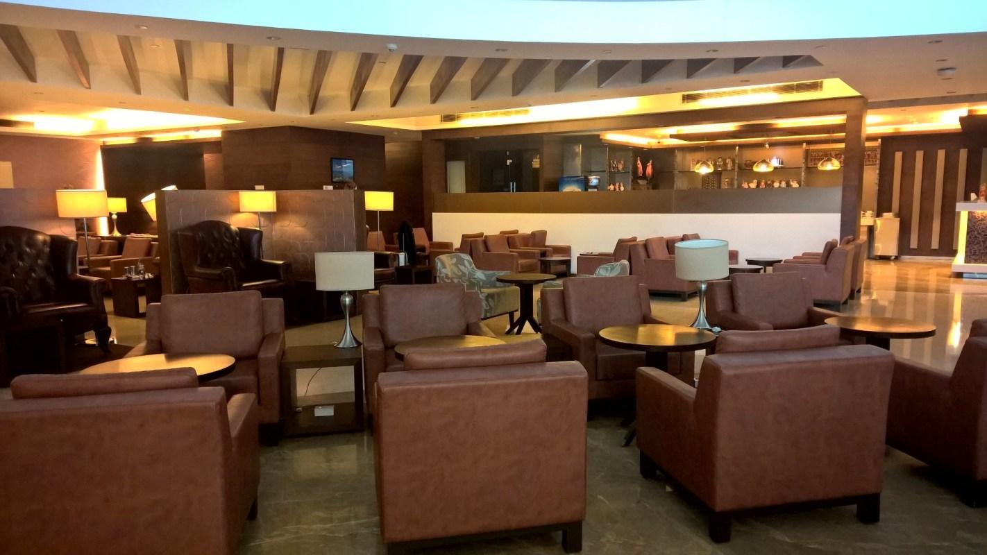 Seating Area Air India Lounge Delhi