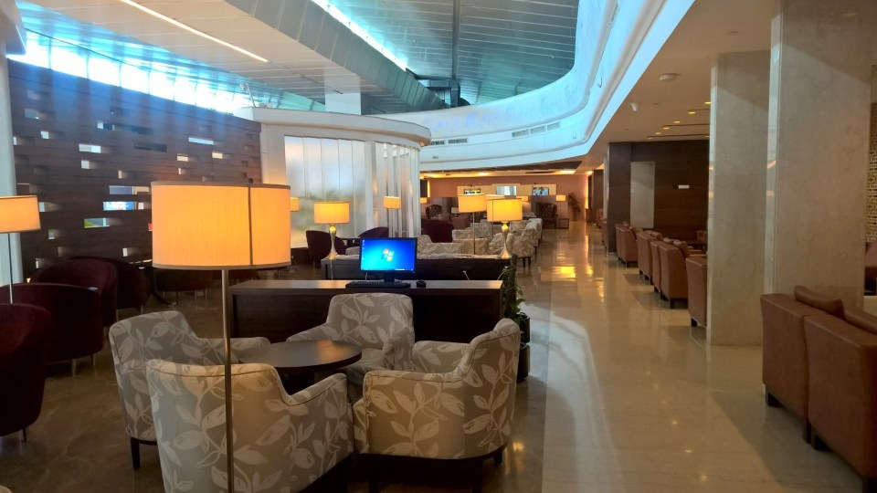 Seating Area Air India Lounge Delhi