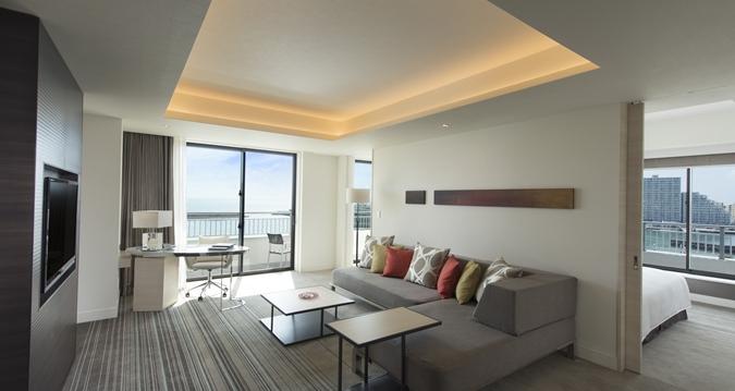 Hilton Okinawa Chatan Resort Twin One Bedroom Suite