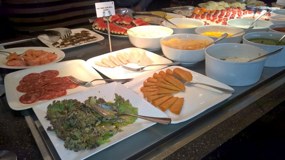 Le Méridien New Delhi Breakfast