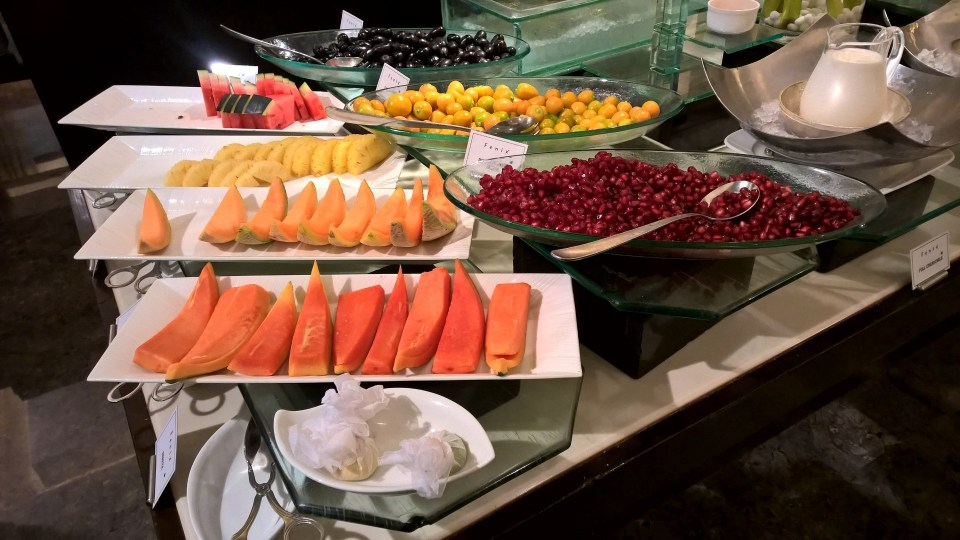 The Oberoi Mumbai Breakfast