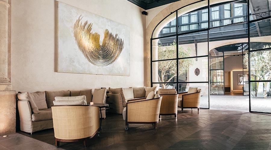 Sant Francesc Hotel Singular Mallorca Lobby