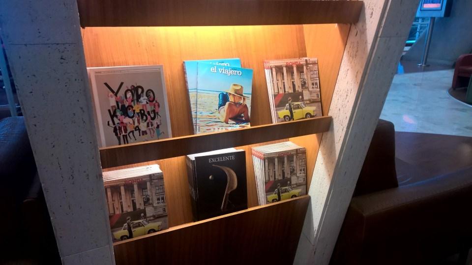 Iberia Dali VIP Lounge Madrid Entertainment