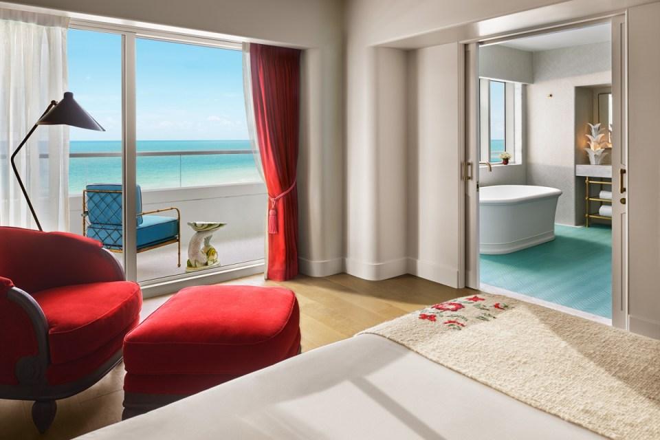 Faena Hotel Miami Beach Premier Oceanfront Corner Suite