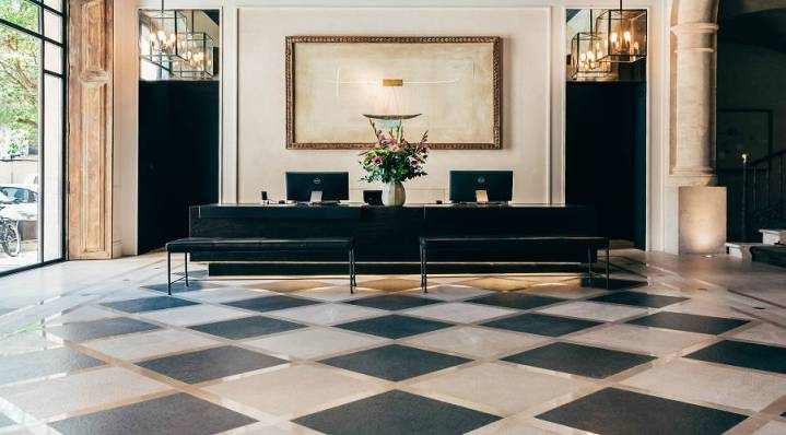 Sant Francesc Hotel Singular Mallorca Reception