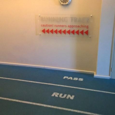Radisson Blu Sandton Running Track