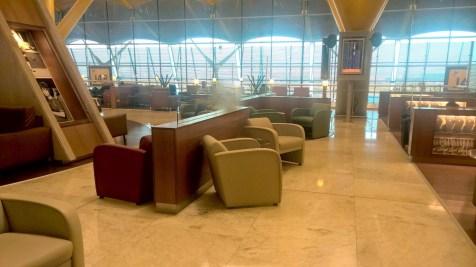 Iberia Dali VIP Lounge Madrid Seating