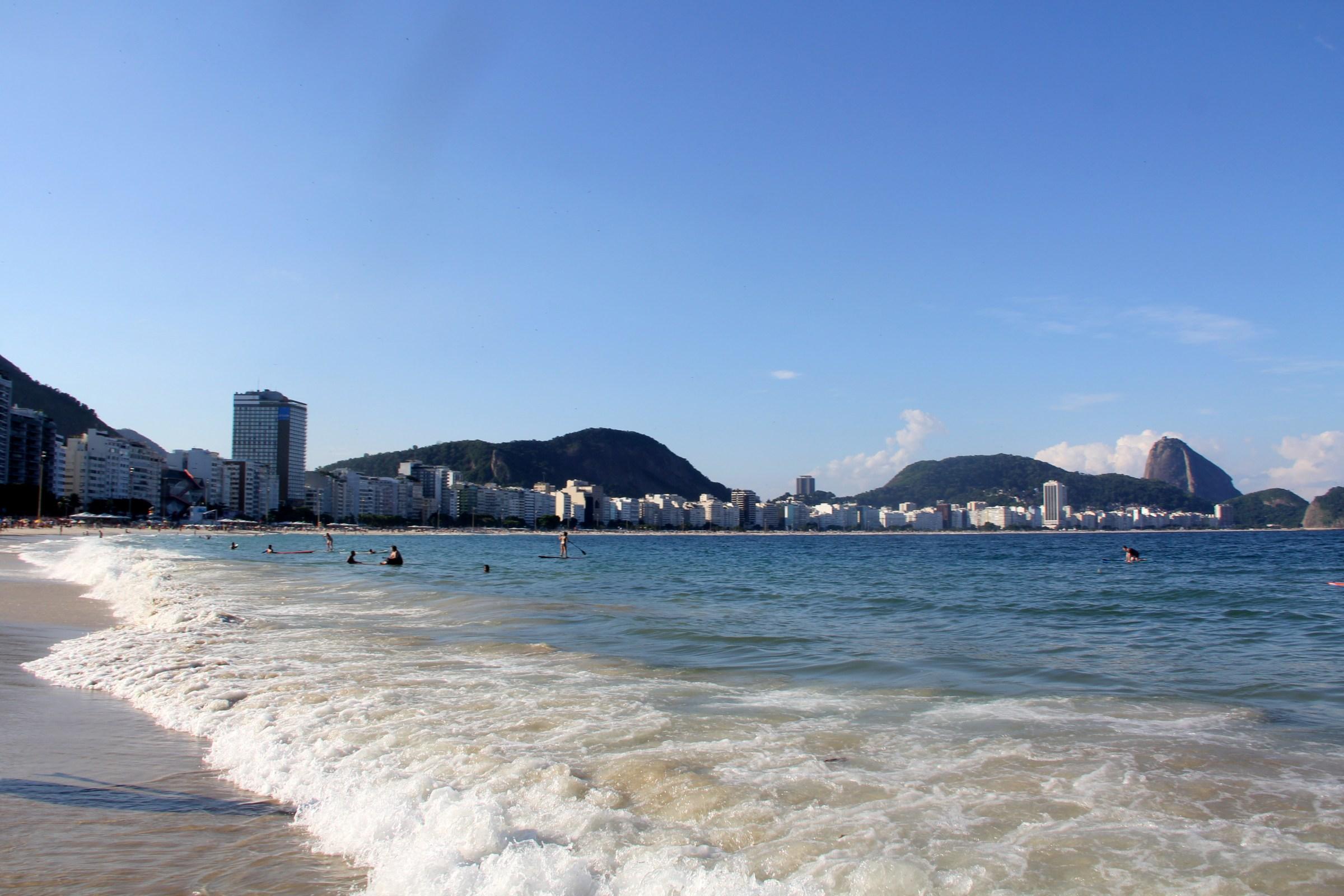 Cobacabana Beach Rio de Janeiro