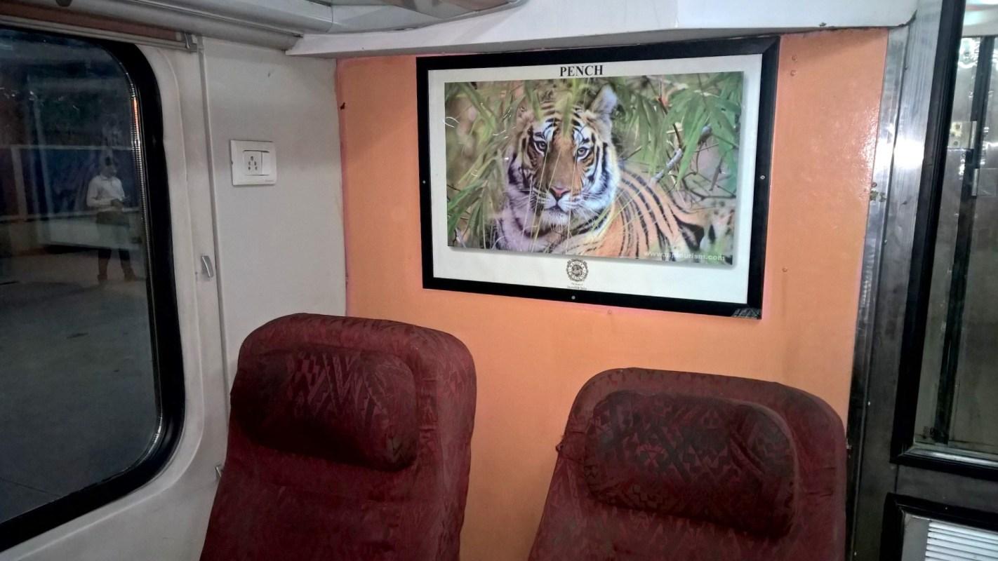 Shatabdi Express First Class Seating