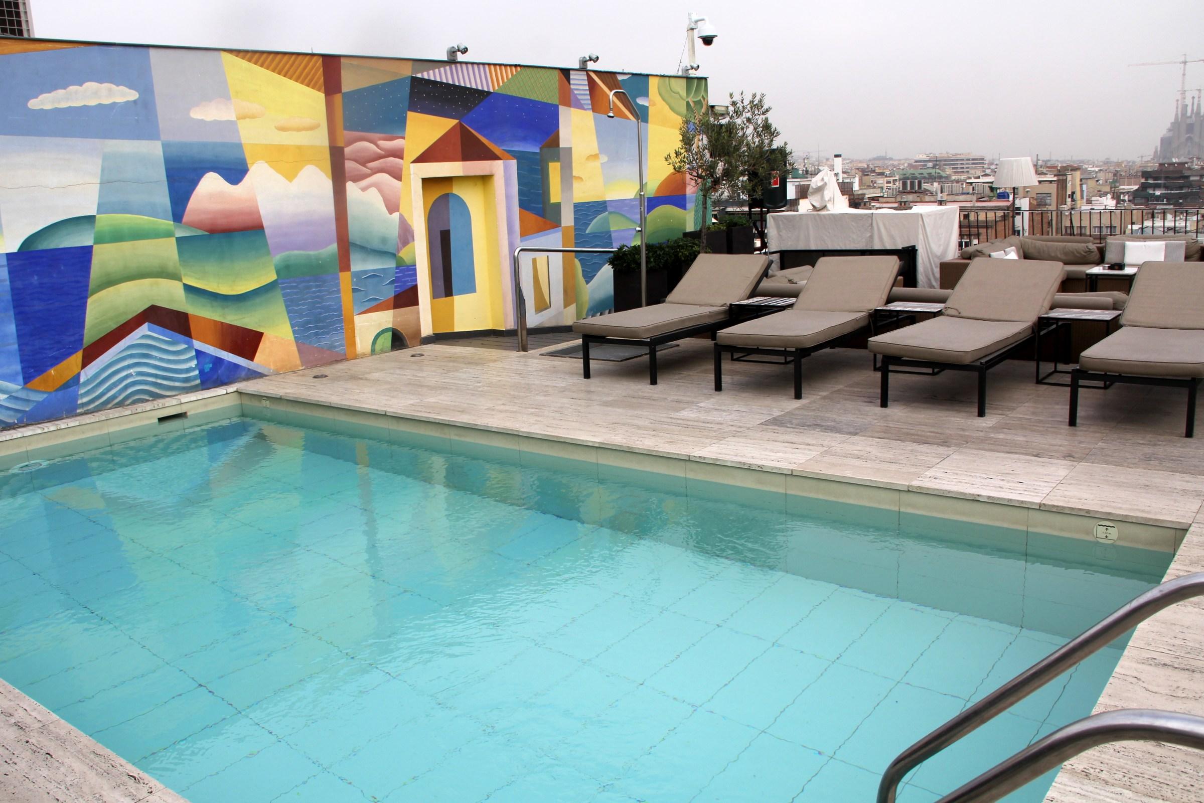 Hotel Majestic Barcelona Pool