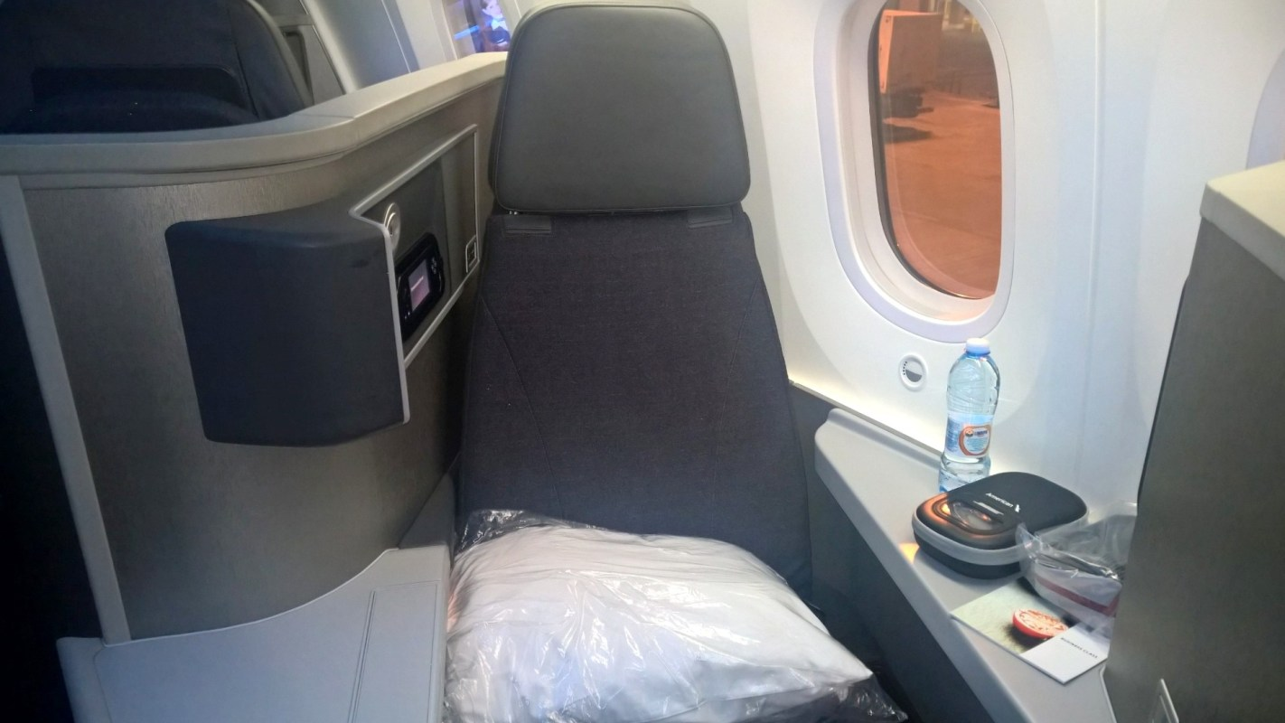 American Airlines Business Class Boeing 787