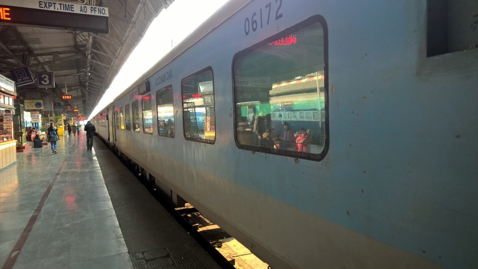 Shatabdi Express First Class Train