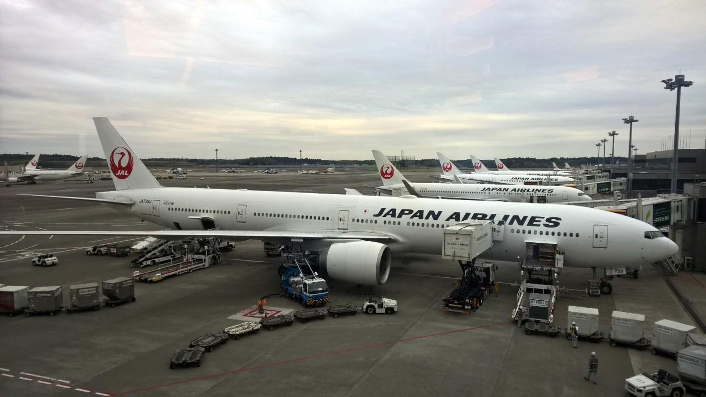 JAL First Class Lounge Tokyo Narita