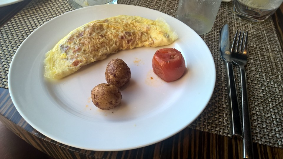 Hilton Jaipur Breakfast