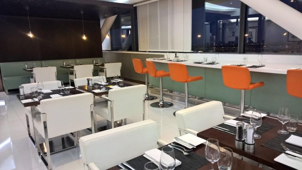 Etihad Lounge Paris Seating
