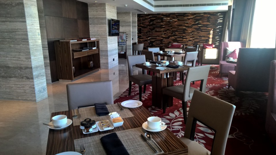 Hilton Jaipur Executive Lounge